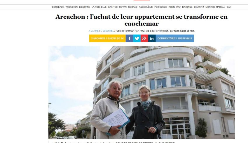 condamnation scp ducourau 440 000 euros